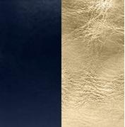 Midnight blue gold
