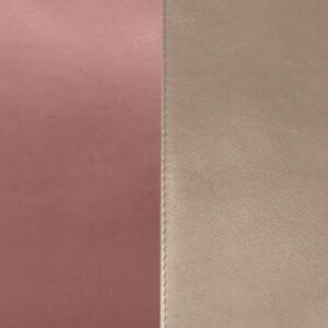 Bicolore Bois de rose/Taupe