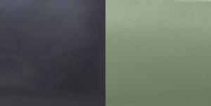 Bleu nuit et vert